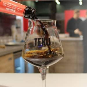 Geniet van uw bier in zelf bedrukte bierglazen van Beers & Brands