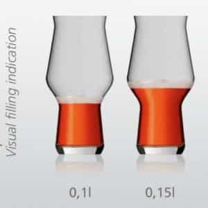 De Craft beer glazen van Beers & Brands