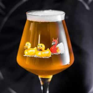 Zorg voor originele bedrukking op uw bierglazen bij Beers & Brands