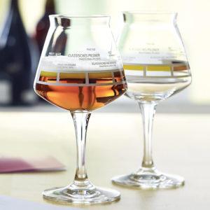 Kies uw eigen bedrukking op uw bierglazen bij Beers & Brands