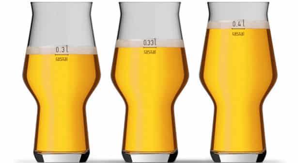 Verschillende tapmaten mogelijk in 1 glas