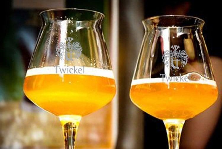 Offerte van bedrukte de bierglazen van Beers & Brands