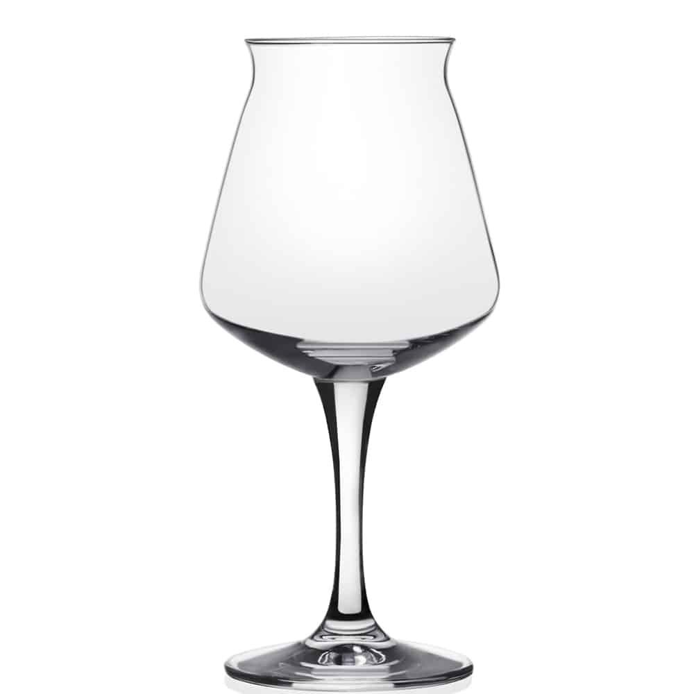 Het kleine Teku voetglas bestelt u bij Beers & Brands. Bedrukking vanaf 96 stuks