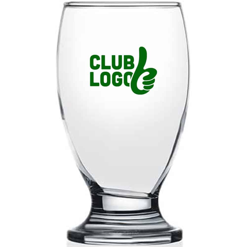 Bedruk bij Beers & Brands het Brussels bierglas voor uw sportvereniging