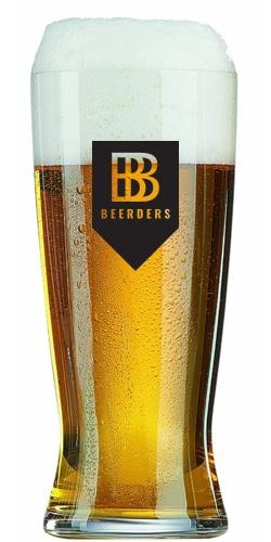 Een pilsener bierglas bedruk je bij Beers & Brands