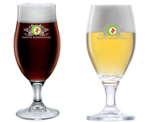 Een Tulpelk bierglas bedruk je bij Beers and Brands