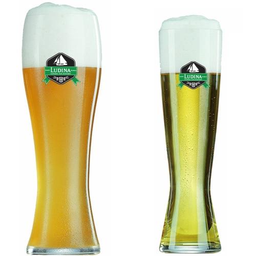 Een Weizpils bierglas laten bedrukken