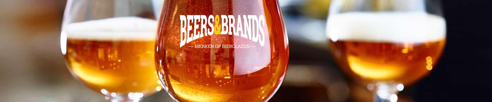 Bierglazen bestellen doet u bij Beers&Brands